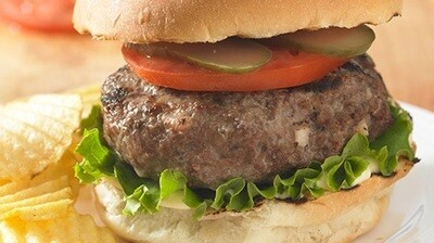 Old Fashioned Beef Burger