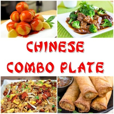 Chinese Combo Plate