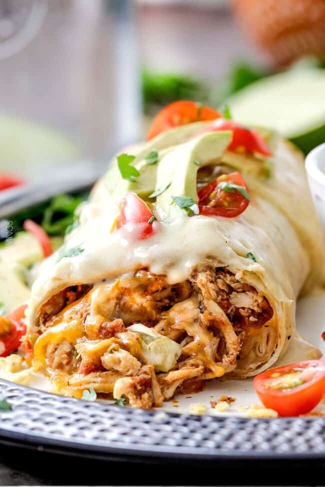 Smothered Chicken Wrap
