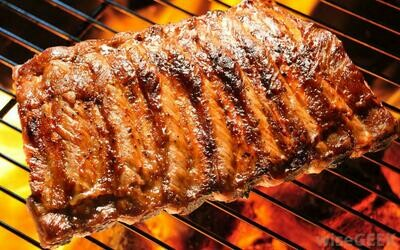 Meaty Marinated BBQ Pork Back Ribs