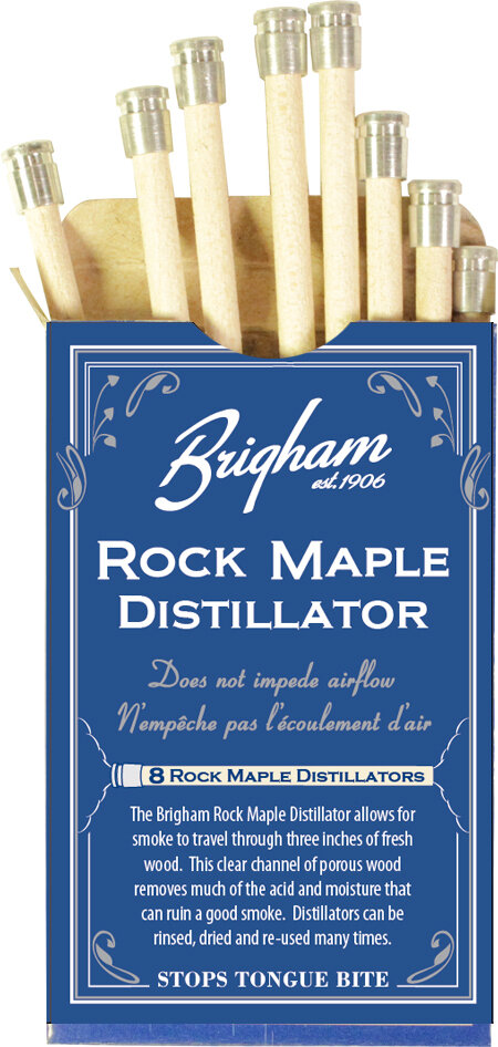 Brigham Rock Maple Distillators 8 per pack