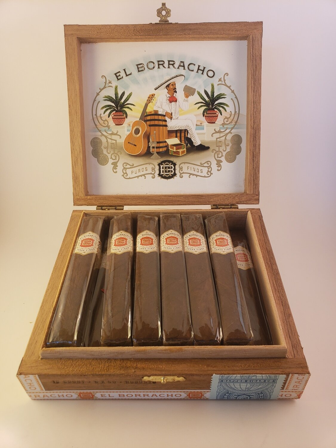 Dapper El Borracho Natural Edmundo 5 1/2 x 52