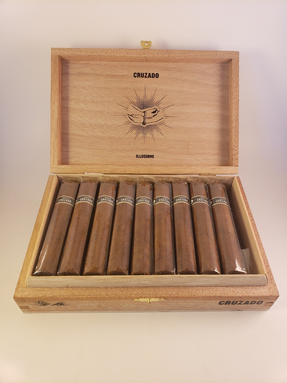 Illusione Cruzado Short Robusto Petite Robusto 4 1/4 x 48 Single Cigar