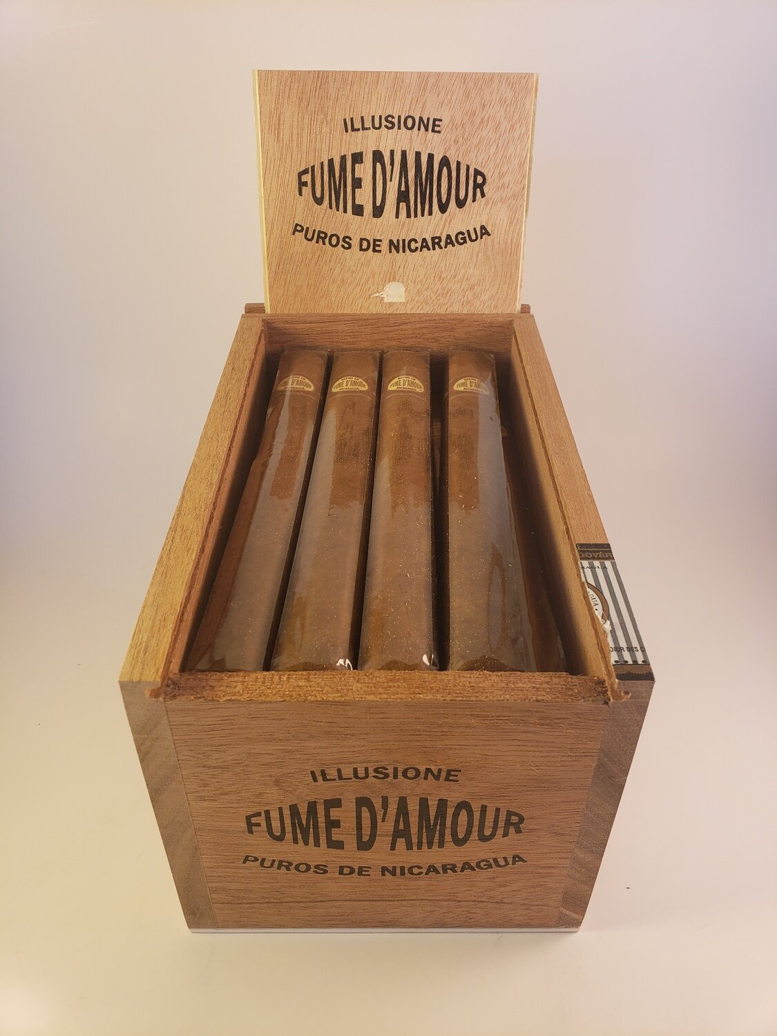 Illusione Fume D'Amour Clementes 6 1/2 x 48 Single Cigar