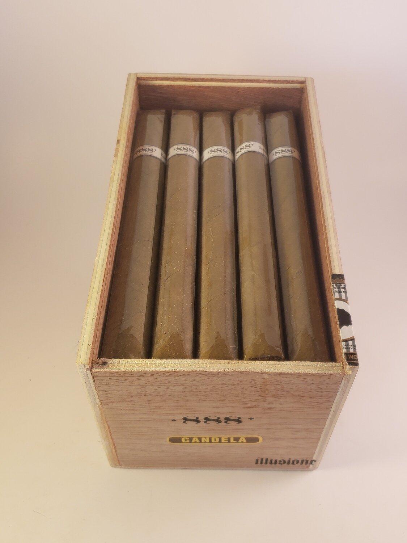 Illusione Original Documents Candela 888 Churchill 6 3/4 x 48 Single Cigar