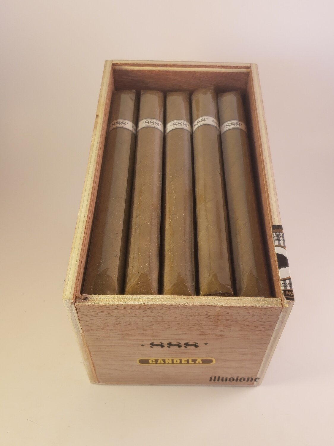 Illusione Original Documents Candela HL Lancero 7 1/2 x 40 Single Cigar