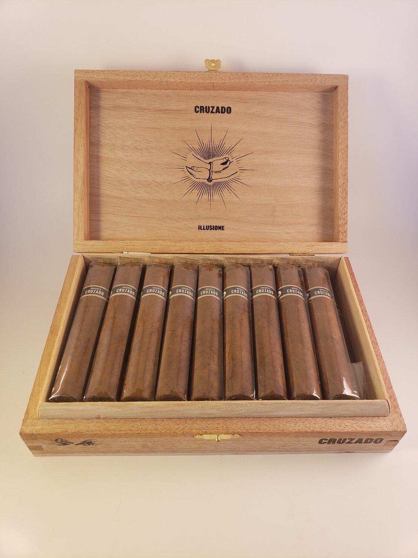 Illusione Cruzado Churchill 6 3/4 x 48 Single Cigar