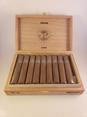 Illusione Cruzado Short Robusto Petite Robusto 4 1/4 x 48 Single Cigar