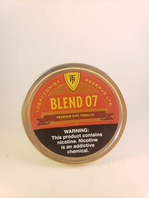 Sutliff Tobacconist Reserve Blend 07 1.5 OZ Tin