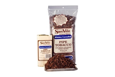 Sutliff Super Value Whiskey Cavendish Pipe Tobacco 1.5 OZ Pouch