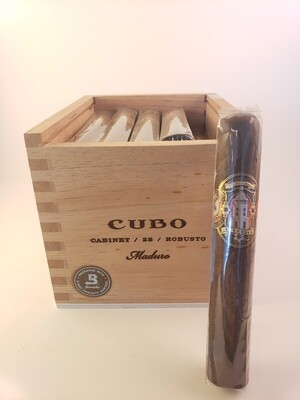 Dapper Cubo Maduro Petit Corona 5 3/4 x 40