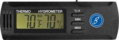 Brigham Digital Hygrometer Slim
