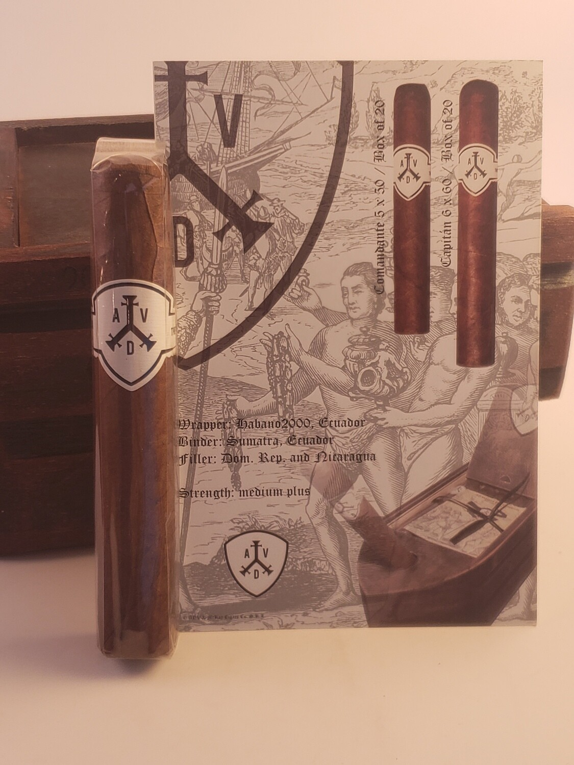 ADVentura The Conqueror Comandante Robusto 5 x 50