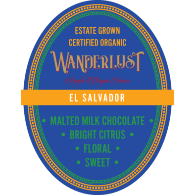 Single Origin El Salvador (Blue Bell Mountain) 16 oz Whole Bean