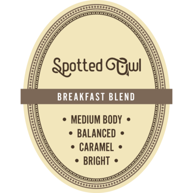 Breakfast Blend 16 oz Whole Bean