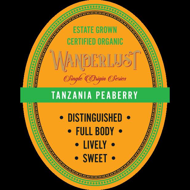 Tanzanian Peaberry 16 oz Whole Bean