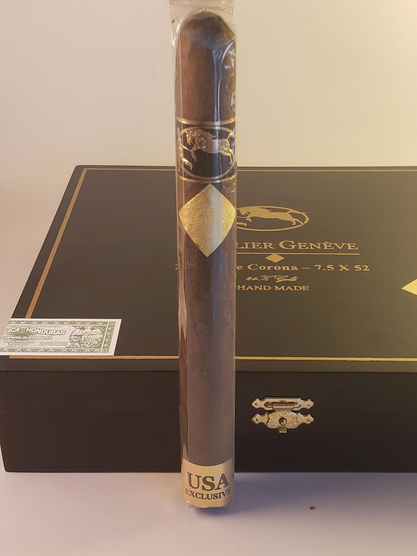 Cavalier Geneve Black Series USA Double Corona 7 1/2 x 52