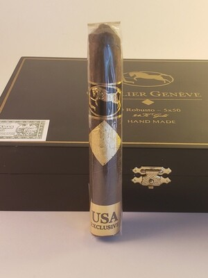 Cavalier Geneve Black Series USA Robusto 5 x 50 Single Cigar