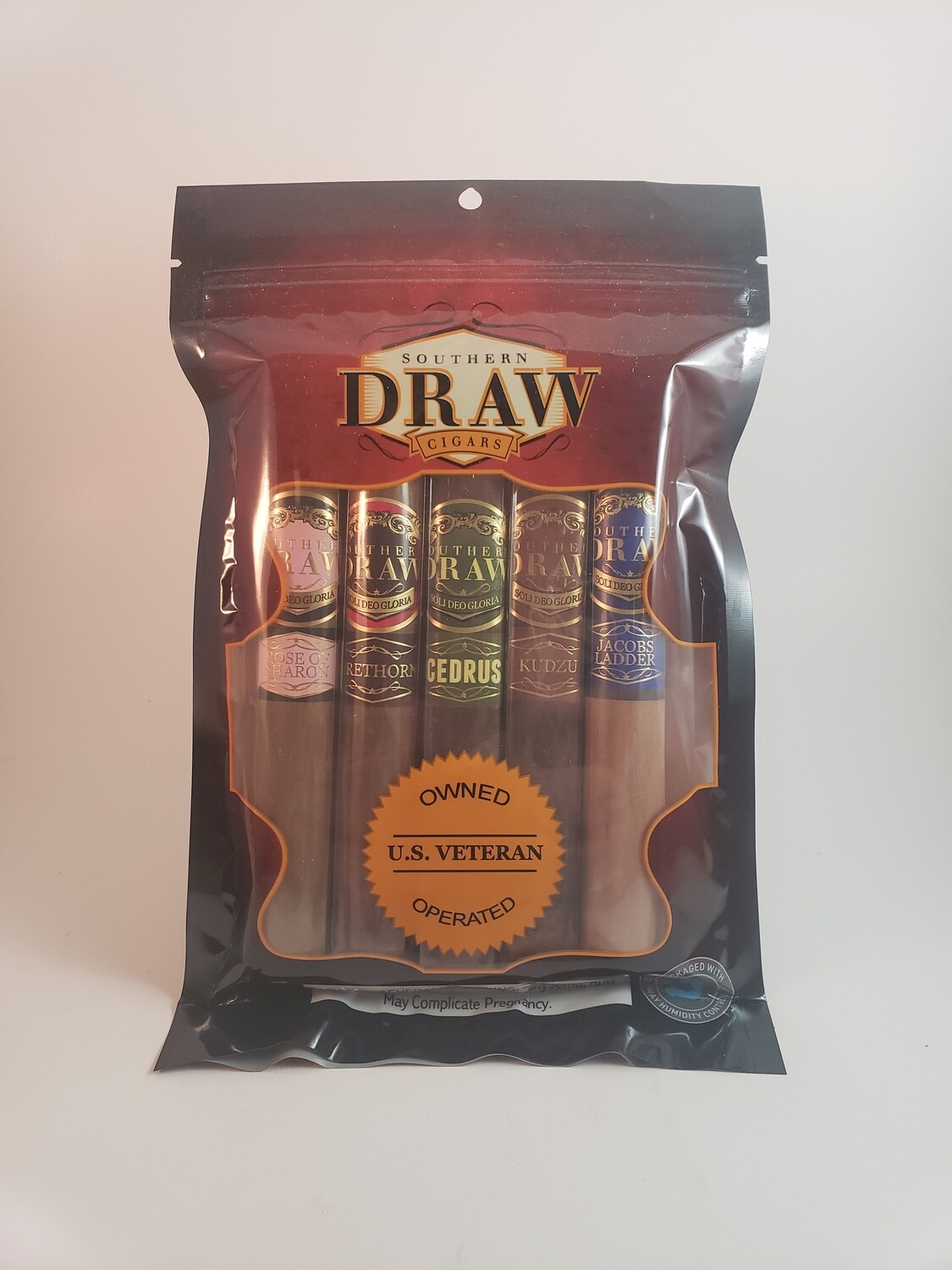 Southern Draw Drawpak Rose/FT/Cedrus/Kudzu/Jacobs Robusto 5ct