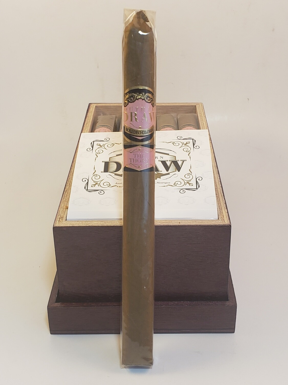 Southern Draw Rose of Sharon Lancero 7.5 x 40 Single Cigar
