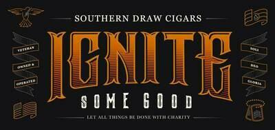5 Pack Southern Draw Ignite Navy Seal Foundation 5 Cigar Sampler