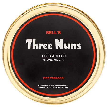 Sutliff Three Nuns Red Pipe Tobacco 1.75 oz Tin