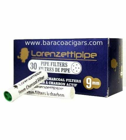 Brigham Lorenzetti Adsorba 9mm Charcoal Pipe Filters 30 pack