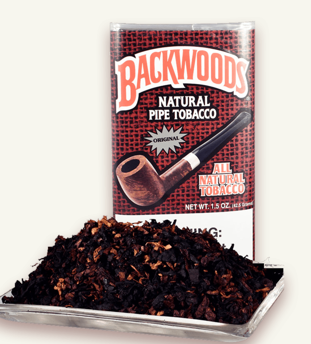 Sutliff Backwoods Original Pipe Tobacco 1.5 oz Pack
