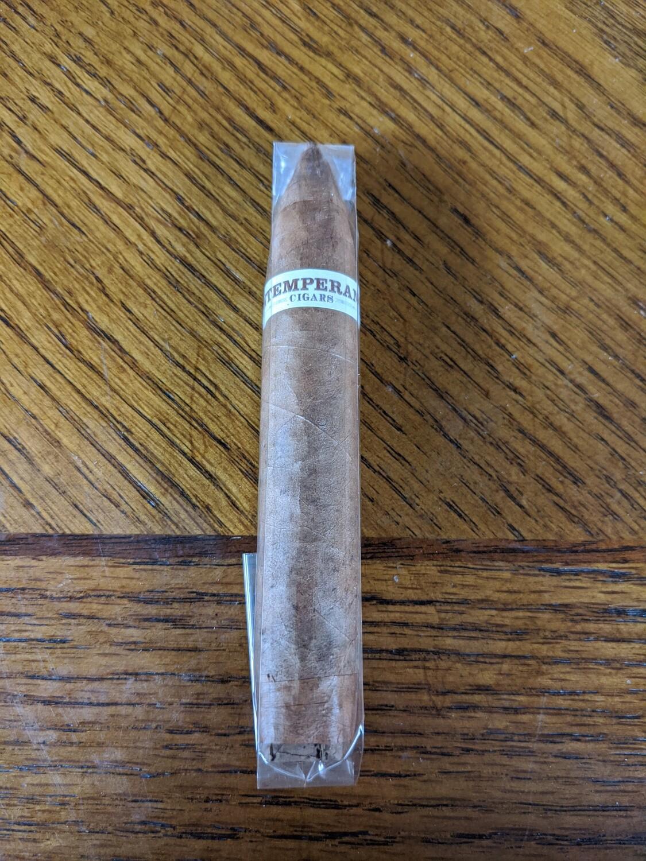 Roma Craft Intemperance EC XVIII Ecuador Connecticut Faith 5 x 50 Short Perfecto Single Cigar