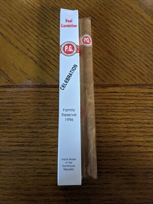 Paul Garmirian Gourmet Celebration 1996 9 X 50 Single Cigar