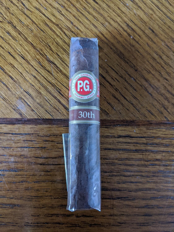 Paul Garmirian Gourmet III 30th Anniversary Short Robusto 4 1/2 X 52 Single Cigar