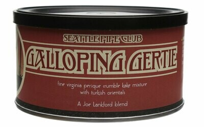 Seattle Pipe Club Galloping Gertie 2 Oz Tin