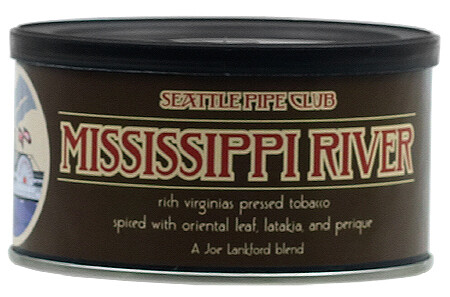 Seattle Pipe Club Mississippi River 2 Oz Tin