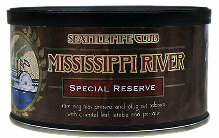 Seattle Pipe Club Mississippi River Special Reserve 4 Oz Tin