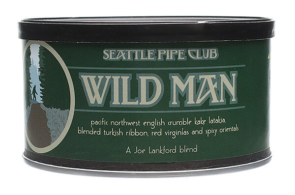 Seattle Pipe Club Wildman 2 Oz Tin