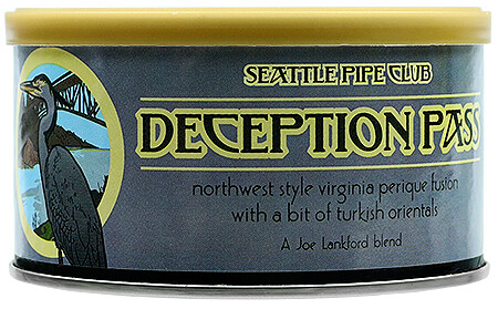 Seattle Pipe Club Deception Pass 2 Oz Tin