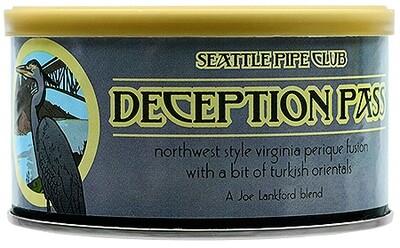 Seattle Pipe Club Deception Pass 2 Oz Tin
