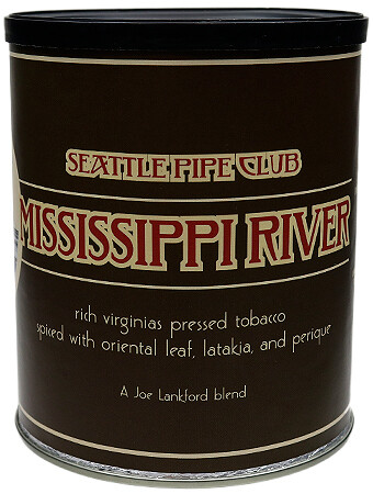 Seattle Pipe Club Mississippi River 8 Oz Tin