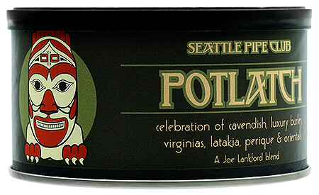 Seattle Pipe Club Potlatch 2 Oz Tin