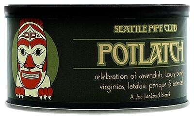 Seattle Pipe Club Potlatch 2 Oz Tin