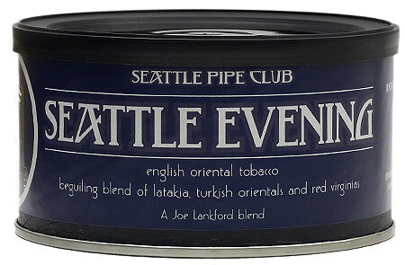 Seattle Pipe Club Seattle Evening 2 Oz Tin