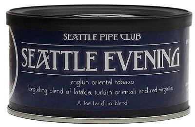 Seattle Pipe Club Seattle Evening 2 Oz Tin