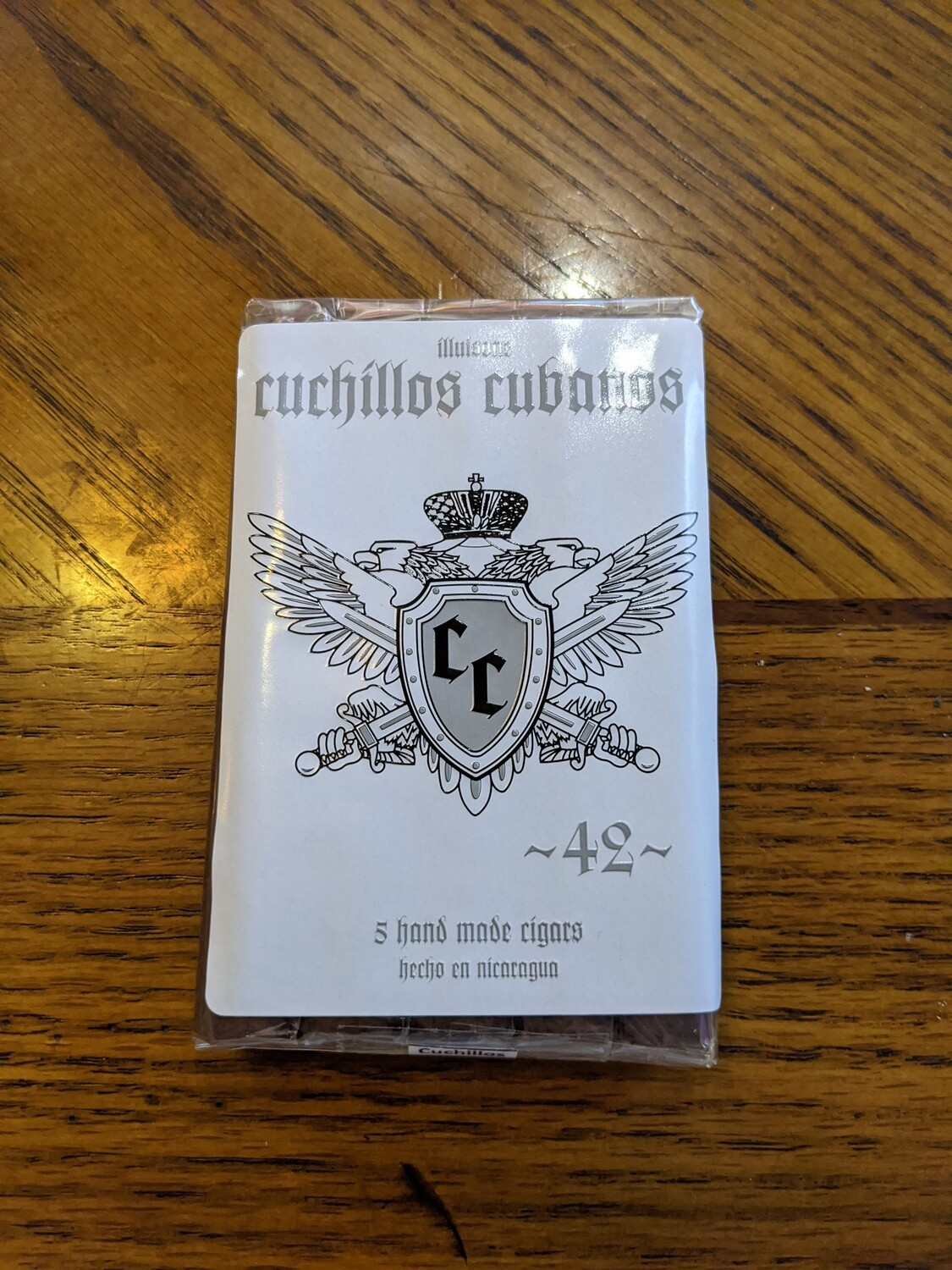 Illusione Cuchillos Cubanos 42 4 3/4 X 42 Single Cigar