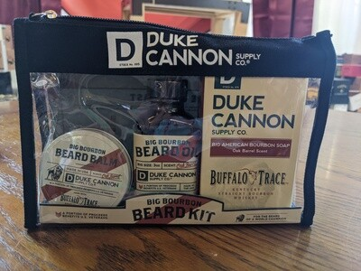 Duke Cannon Big Bourbon Beard Set