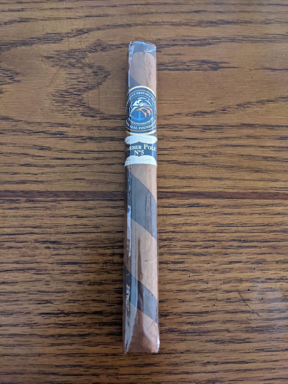 Southern Draw Ignite Jar #5 Barber Pole Double Corona 7 1/2 x 50 Single Cigar