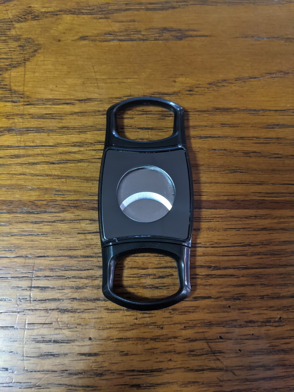 Visol VCUT721GM Artorus Gunmetal Dual Blade Cigar Cutter