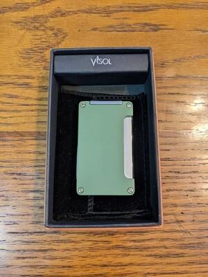 Visol VLR400105 Zidane Green Matte Cigar Lighter