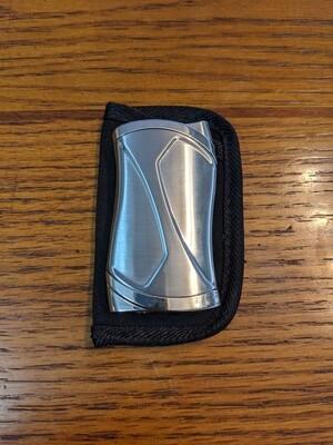 Visol VLR405403 Pisco Dual Torch Cigar Lighter Silver
