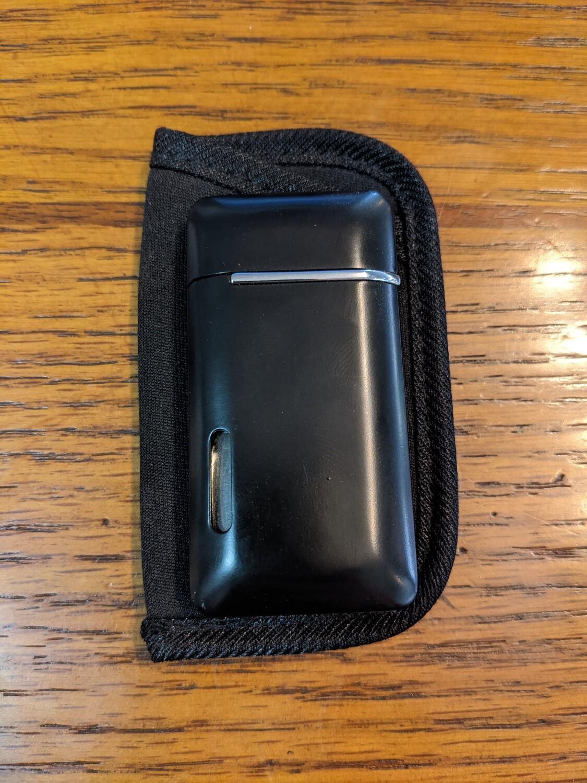 Visol VLR405301 Nevis Dual Torch Cigar Lighter Matte Black