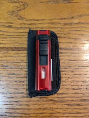 Visol VLR405505 Denali Triple Torch Lighter Red